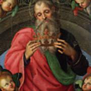 God The Father Fragment Of The Baronci Art Print