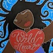 Goddess Of Wild Hearts Art Print