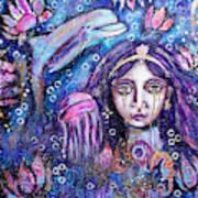Goddess Ymanya Art Print