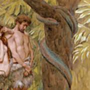 Gods Curse, Adam And Eve Art Print