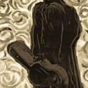 Gogh Johnny Go Art Print
