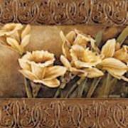 Golden Daffodils II    Art Print