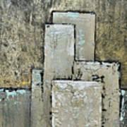 Golden Skyline IIi Art Print