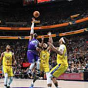 Golden State Warriors V Utah Jazz Art Print