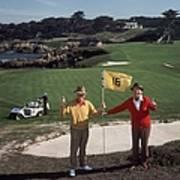 Golfing Pals Art Print