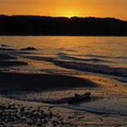 Good Harbor Bay Sunset Art Print