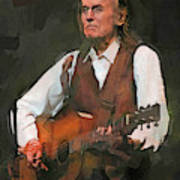 Gordon Lightfoot Art Print