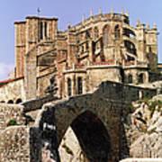 Gothic Church Of Santa Maria Assunta Art Print