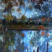 Goulburn Reflections Art Print