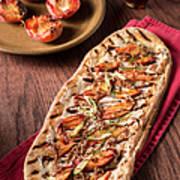 Gourmet Pizza Art Print