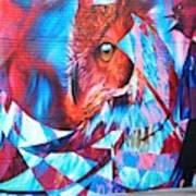 Graffiti Mural Design Art Print