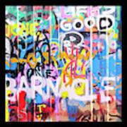 Graffitis Triptych Art Print