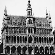 Grand Palace, Brussels Art Print