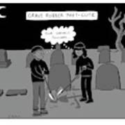 Grave Robber Meet-cute Art Print