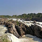 Great Falls On The Potomac Panorama  Art Print