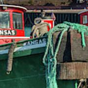 Great Lakes Towing Tug Kansas Art Print