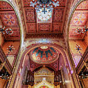 Great Synagogue, Budapest Hungary Art Print
