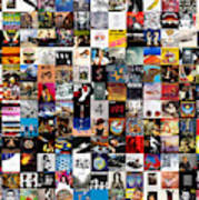 Greatest Album Covers of All Time Art Print