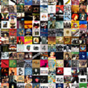 Greatest Rock Albums Of All Time Art Print