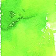 Green Background Spring Blend Art Print