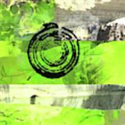 Green Balance No. 4 Art Print