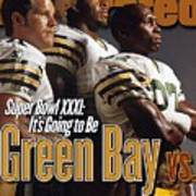 Green Bay Packers, 1996 Nfl Football Preview Issue Sports Illustrated Cover Art Print
