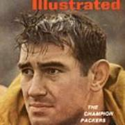 Green Bay Packers Dan Currie Sports Illustrated Cover Art Print