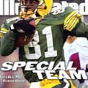 Green Bay Packers Desmond Howard, Super Bowl Xxxi Sports Illustrated Cover Art Print