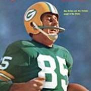Green Bay Packers Max Mcgee, Super Bowl I Sports Illustrated Cover Art Print