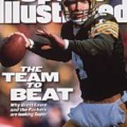 Green Bay Packers Qb Brett Favre... Sports Illustrated Cover Art Print