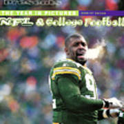 Green Bay Packers Reggie White, 1997 Nfc Championship Sports Illustrated Cover Art Print