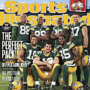 Green Bay Packers The Perfect Pack Sports Illustrated Cover Art Print