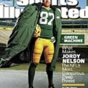 Green Machine What Makes Jordy Nelson The Nfls Most Sports Illustrated Cover Art Print
