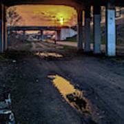 Greenway Sundown Art Print