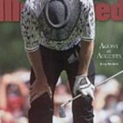 Greg Norman, 1996 Masters Sports Illustrated Cover Art Print