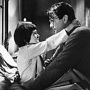 Gregory Peck And Mary Badham In To Kill Art Print