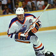 Gretzky In Action Art Print