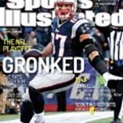 Gronked The Pats Party Boy Throttles Back Sort Of. The Nfl Sports Illustrated Cover Art Print