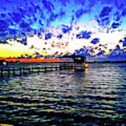 Gulf Shores Sunset Art Print