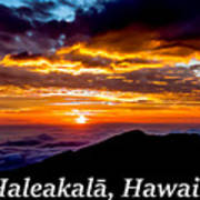 Haleakala Hawaii Art Print