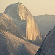 Half Dome At Sunset, Olmsted Point Art Print