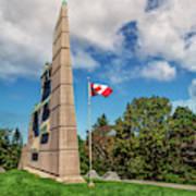 Halifax Explosion Memorial Bell Tower Art Print