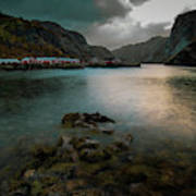 Hamnoy, Lofoten Islands Art Print