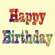 Happy Birthday 1007 Art Print