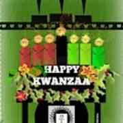 Happy Kwanzaa Art Print