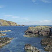 harbour entrance at St. Abbs, Berwickshire Art Print
