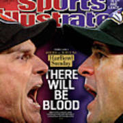 Harbowl Sunday There Will Be Blood Sports Illustrated Cover Art Print