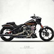 Harley Fxse Art Print