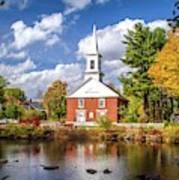 Harrisville, New Hampshire Church Art Print