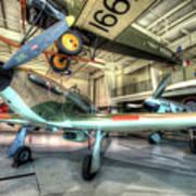 Hawker Hurricane Art Print